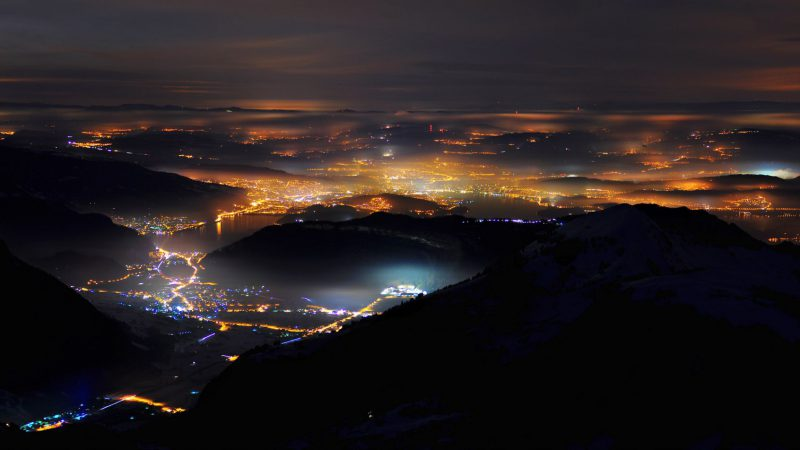 Beleuchtung Stans_Brisen Stans 20100114